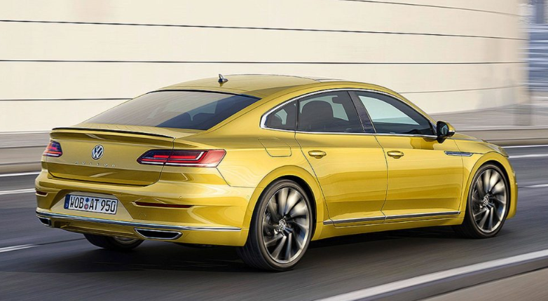 2019 VW Arteon redesign