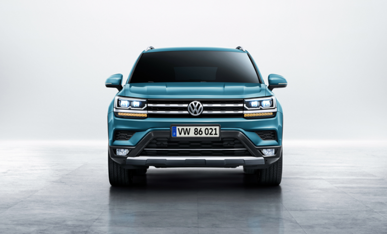 2019 VW Atlas redesign