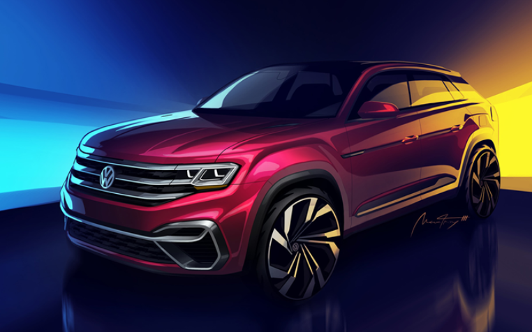 2020 VW Atlas Cross Sport redesign