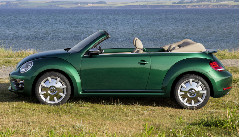 2020 VW Beetle Convertible design
