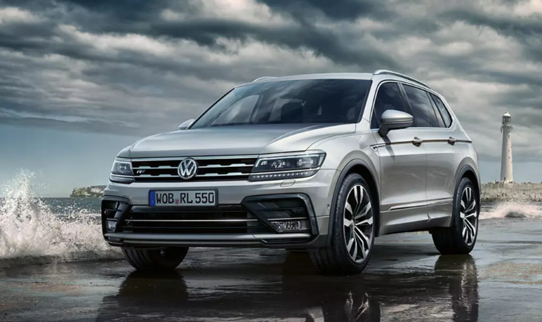 2020 VW Tiguan R Line redesign