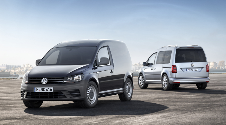 2020 Volkswagen Caddy design