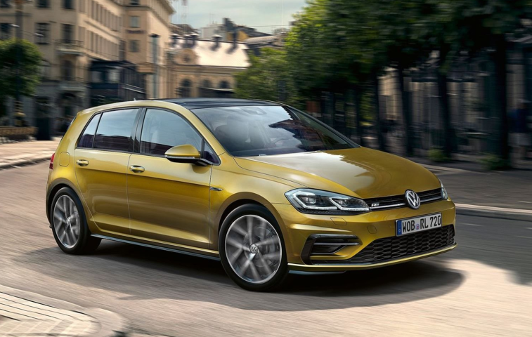 2020 Volkswagen Golf design