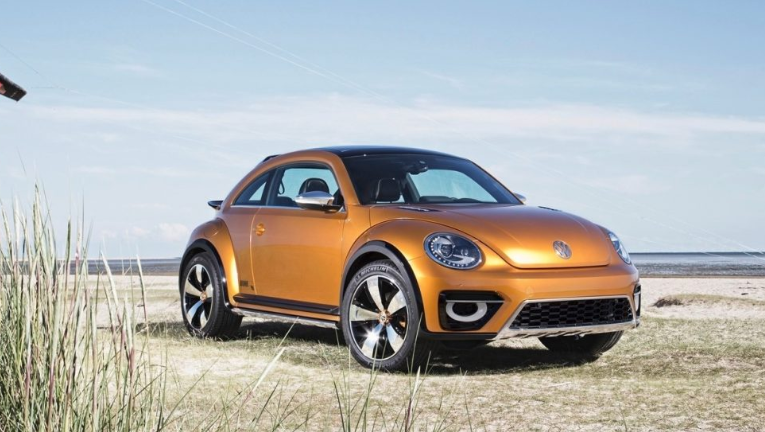 2021 VW Beetle design