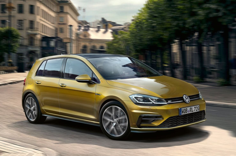 2021 VW Golf design