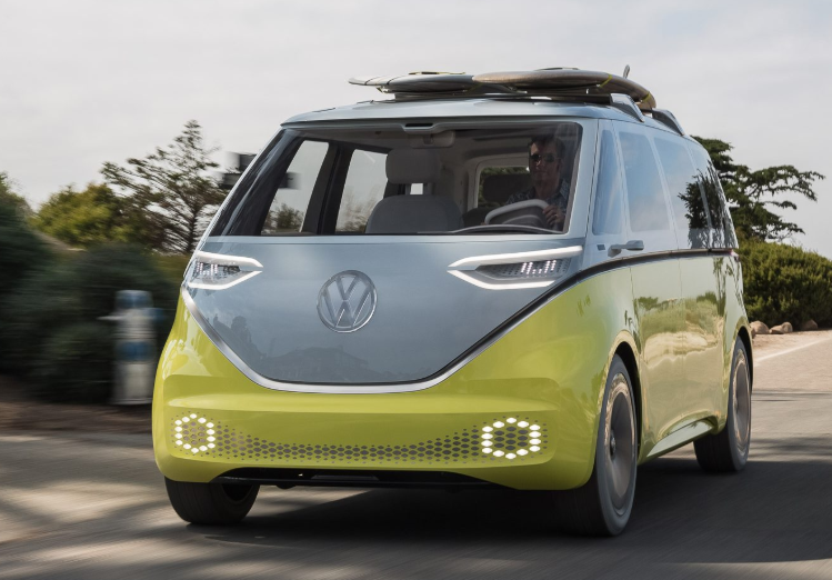 2021 VW Microbus redesign