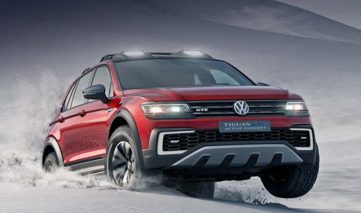 2021 VW Tiguan redesign