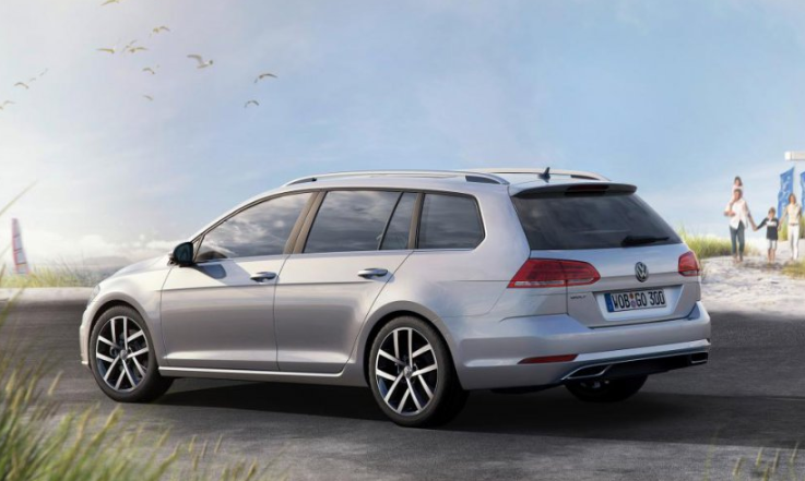 VW Golf Estate 2020 redesign