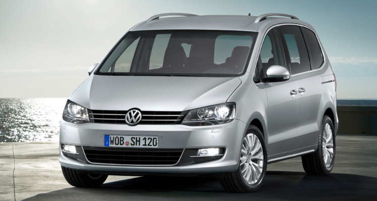 VW Sharan 2021 design