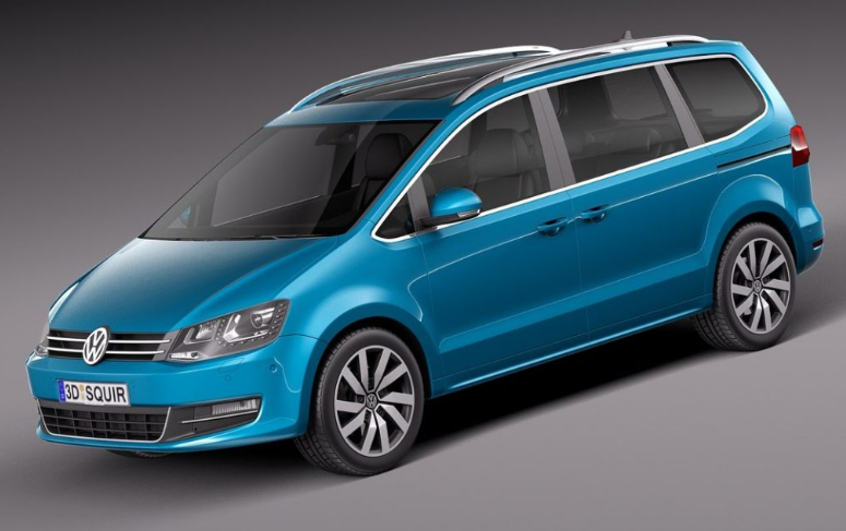 Volkswagen Sharan 2020 design