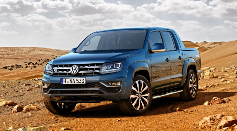 2019 VW Amarok UK redesign