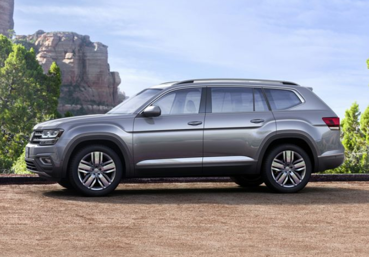 2020 VW Atlas 7 Seater concept