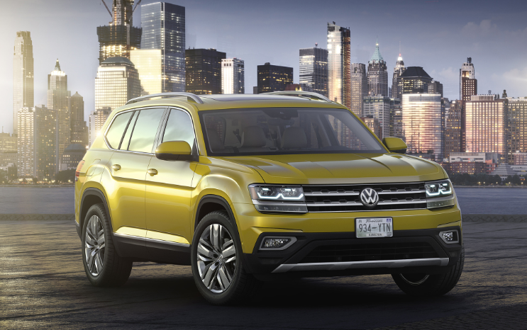 2019 VW Atlas 2 Row review