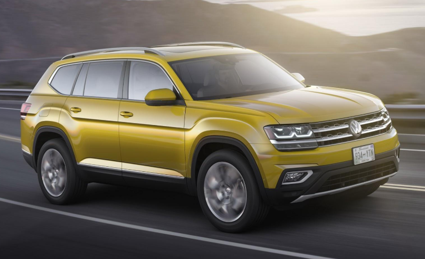 2019 VW Atlas 7 Seater design