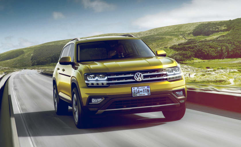 2019 VW Atlas Crossover news