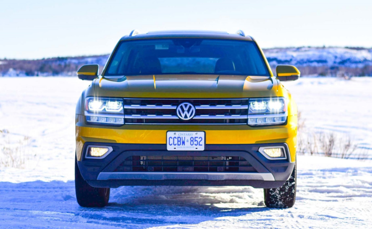 2019 VW Atlas Pickup design