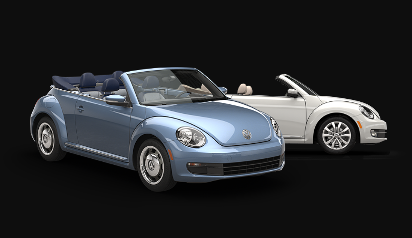 2020 VW Beetle Convertible changes