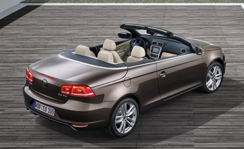 2019 VW Eos design
