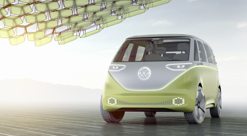 2019 VW Microbus redesign