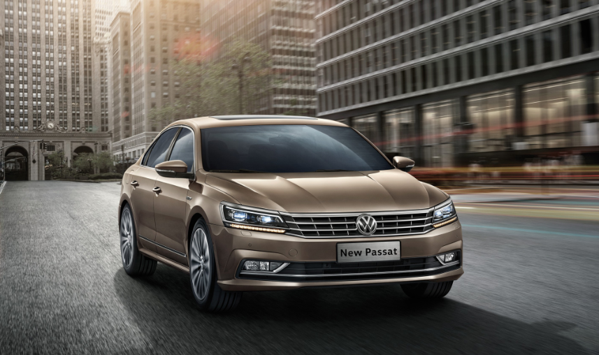 2019 VW Passat redesign