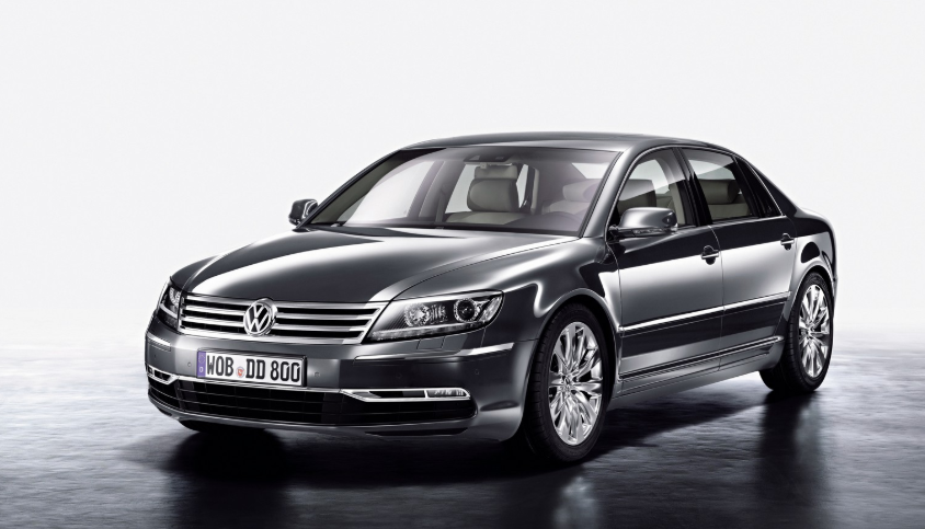 2019 VW Phaeton redesign