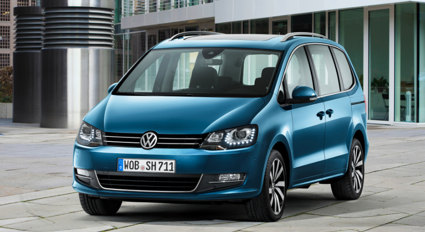 2019 VW Sharan redesign