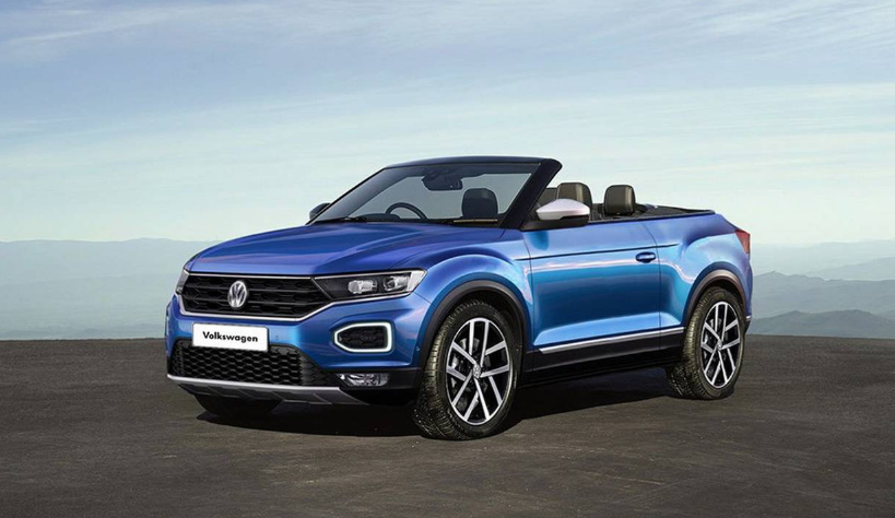2019 VW T-Roc Cabriolet redesign