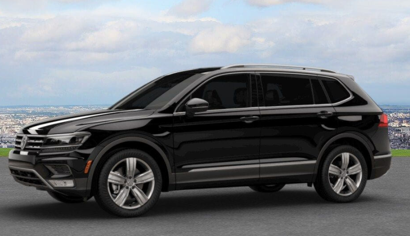 2019 VW Tiguan Black design