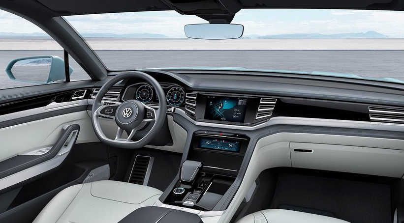 2019 VW Tiguan Coupe interior 2020 VW Tiguan Black Colors, Rumors, Changes, Interior