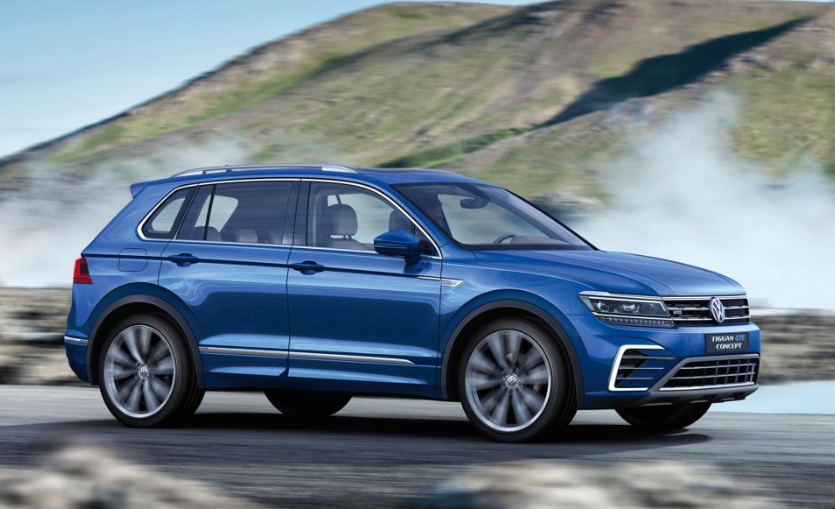 2020 VW Tiguan Coupe release date
