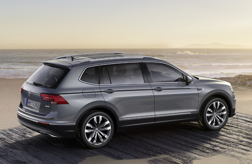 2019 VW Tiguan USA design