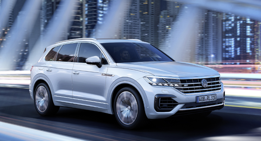 2019 VW Touareg R Line release date