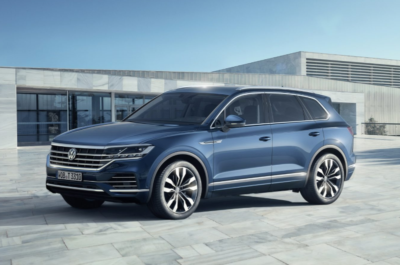 2019 VW Touareg changes