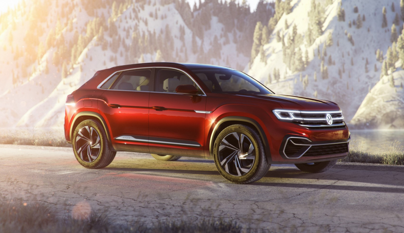 2019 Volkswagen Atlas Five Seater design