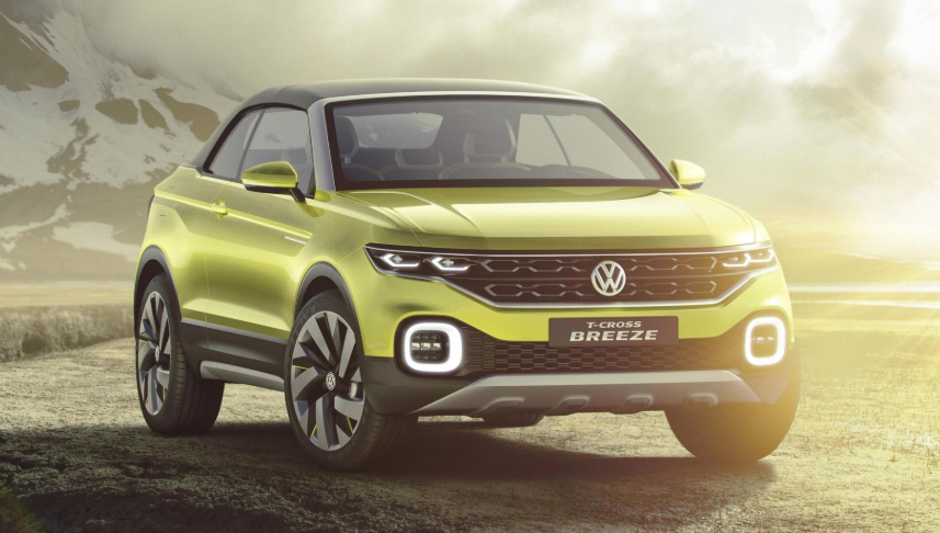 2019 Volkswagen T-Cross SUV design