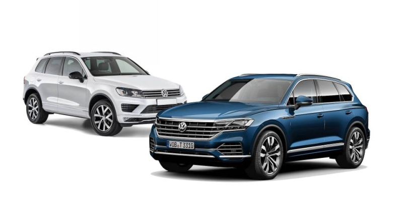VW Touareg 2019 Mexico news