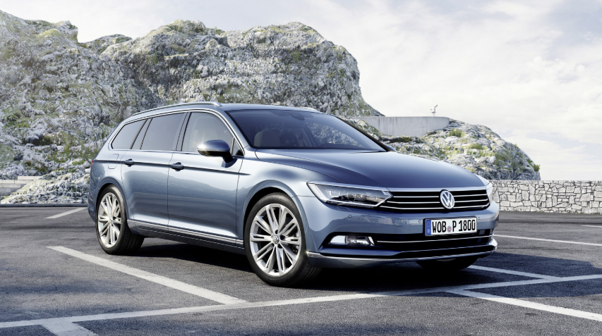 2018 VW Passat Wagon redesign
