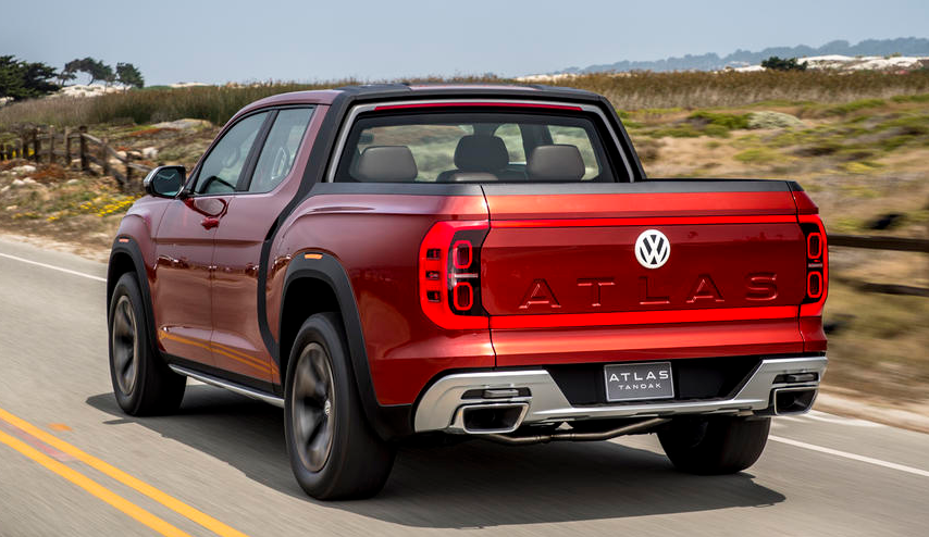 2020 VW Atlas Pickup Towing Capacity