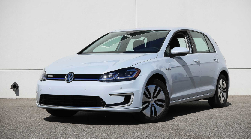 2019 VW E-Golf Range redesign