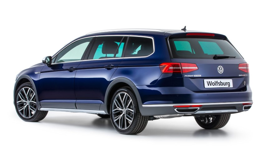2019 VW Passat Alltrack USA redesign