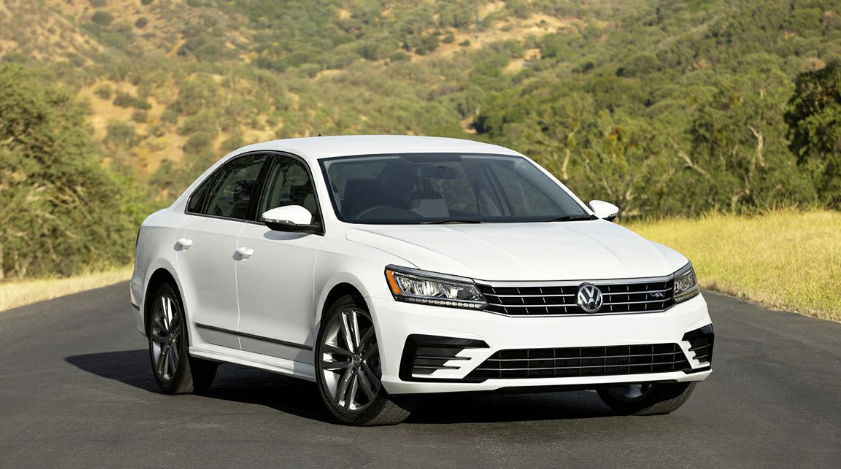 2019 VW Passat R Line changes