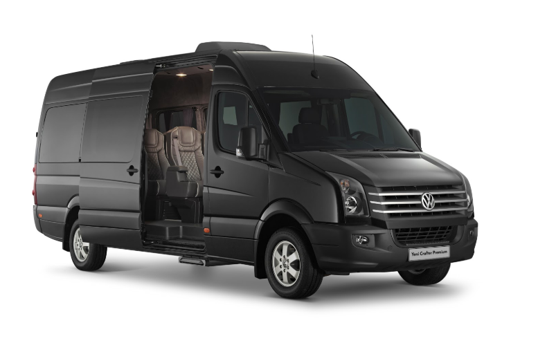 VW Crafter 2019 Mexico design