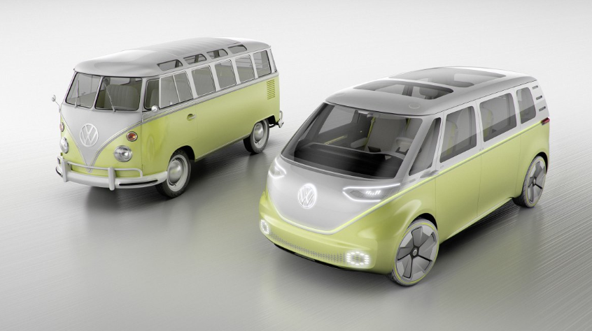 VW Microbus 2019 changes