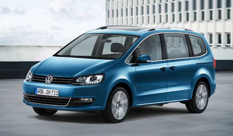 VW Sharan 2019 AB Wann redesign
