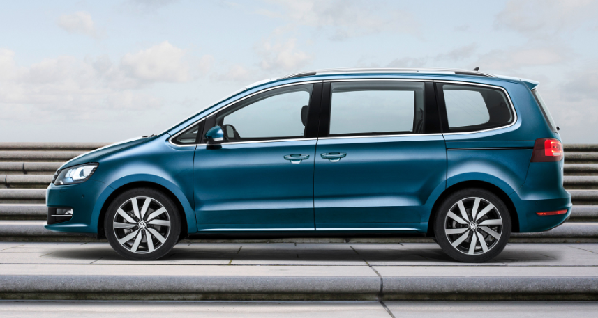 VW Sharan 2019 New Model UK Facelift design