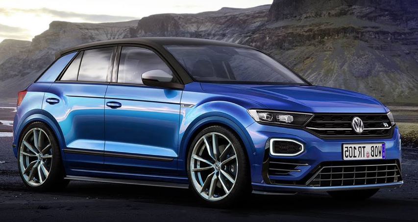 VW T-Roc R 2019 design