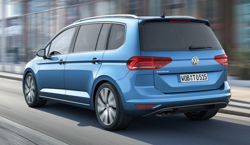 VW Touran Facelift 2019 design