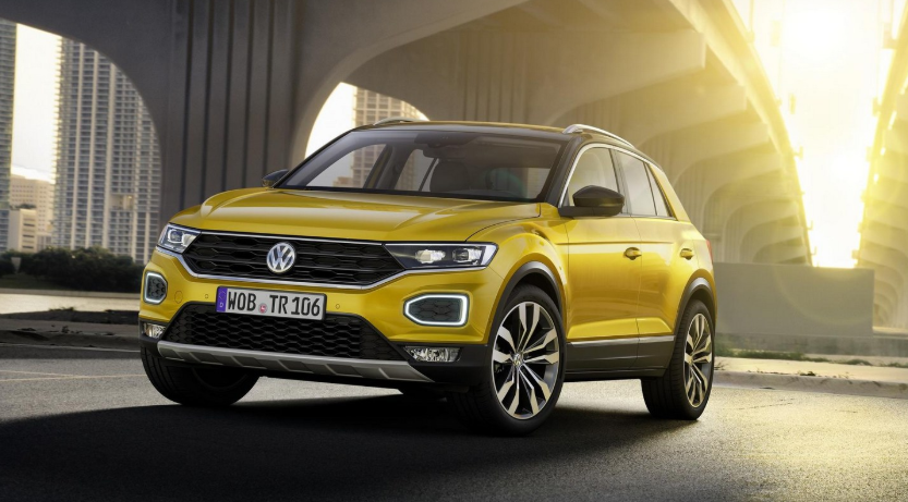 Volkswagen T-Cross 2019 design