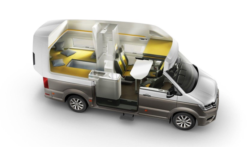 2019 VW California XXL Camper Van changes