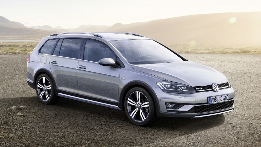 2019 VW Golf Alltrack redesign
